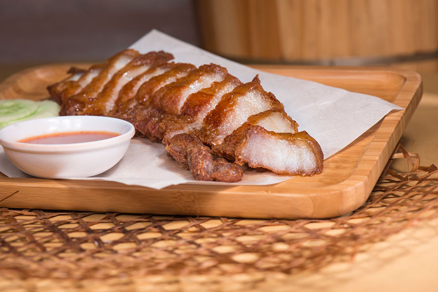 南乳脆花腩Roasted Crispy Pork